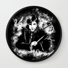 The Magizoologist Wall Clock