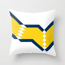 Boca Junior 20/21 Home Throw Pillow