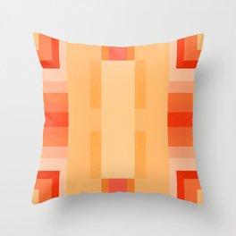 Apricot Pattern Throw Pillow