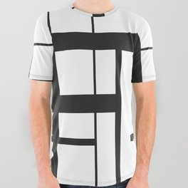 Lines #3 All Over Graphic Tee