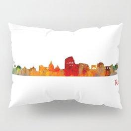 Rome city skyline HQ v01 Pillow Sham