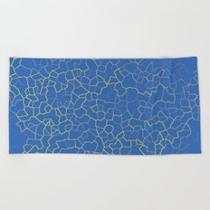 Crackle at the Poolside Beach Towel