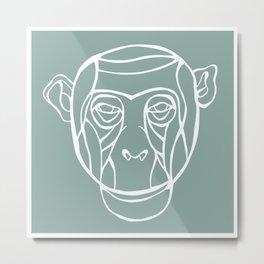 ocean monkey Metal Print