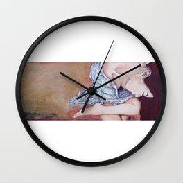 Heart is full Wall Clock