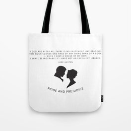 Pride and Prejudice A Tote Bag