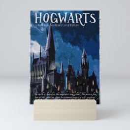The best wizarding school Mini Art Print