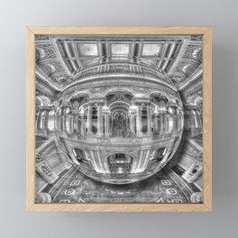 Ode To MC Escher Library of Congress Orb Framed Mini Art Print