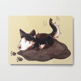 Mud Puppy Metal Print