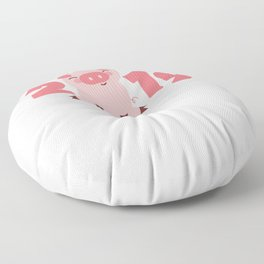 Year Of The Pig Happy New Year 2019 Party Floor Pillow