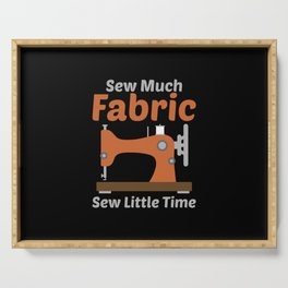Sewing - Sew Much Fabric Serving Tray