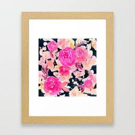 Pink In the Dark Framed Art Print