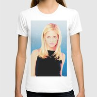 buffy the vampire slayer T-shirts featuring Buffy the Vampire Slayer, Cross by Your Friend Elle