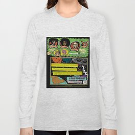 Page #1 of Tex Watt's  (UNCENSORED) SUNDAY COMIX POP-ART! Long Sleeve T-shirt
