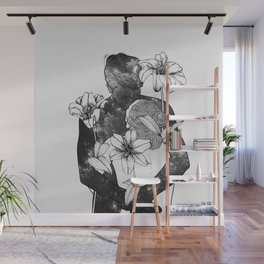 You are my flowery drug. Wall Mural