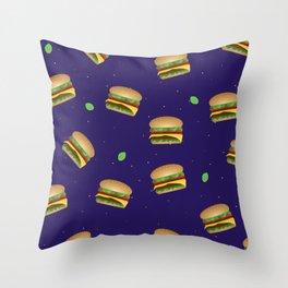 Cheeseburger Dreams Throw Pillow