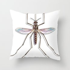 Mosquito Throw Pillow