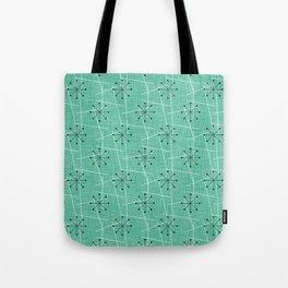 Atomic Starbursts Mid-Century Style Tote Bag
