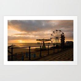 Cleethorpes Sunrise Art Print