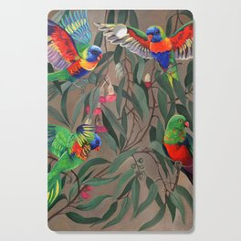 Birds of Paradise. Cutting Board