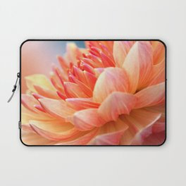 Dahlia Glow Macro Laptop Sleeve