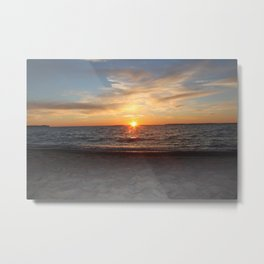 Live by the Sun Metal Print