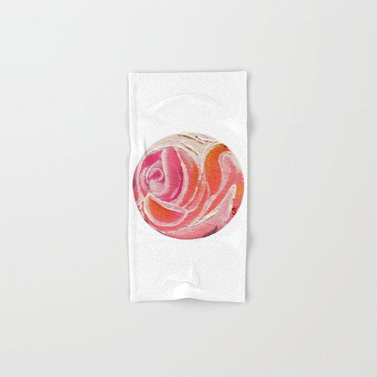 Sunday Plum Roses Hand & Bath Towel