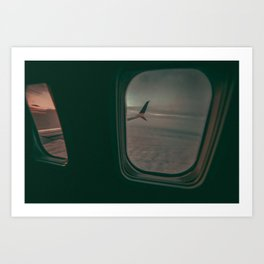 Early Morning Flight Art Print