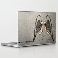 angel wings Laptop & iPad Skins featuring Wings by Donna M Condida