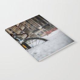 Bike stuck in snow Notebook