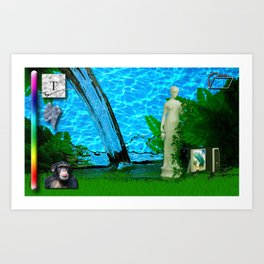 Paintjob Art Print