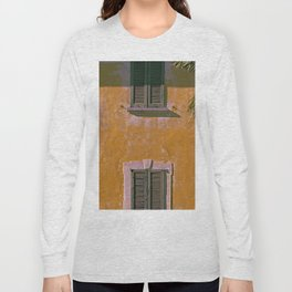 Old house in the north of Italy on the Swiss border Long Sleeve T-shirt