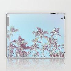 Vintage palm trees (blue) Laptop & iPad Skin