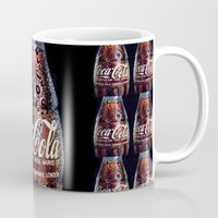 coca cola Mugs featuring The Real... by LesImagesdeJon