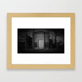 The Christchurch Electricity Substation Project XVIII Framed Art Print