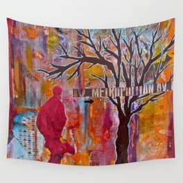 Finding My Way (The Path to Self Discovery/Actualization) Wall Tapestry