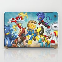 mlp iPad Cases featuring MLP X-Men by Kimball Gray