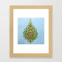 Bloemen voor bhoeda Framed Art Print
