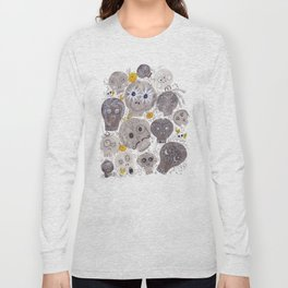 Inktober Sugar Skulls Long Sleeve T-shirt