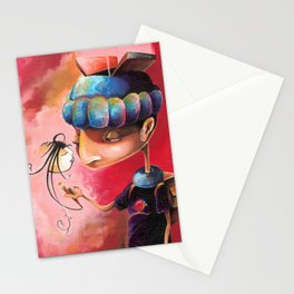 Ugly Gets The Girl Stationery Cards