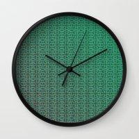 greece Wall Clocks featuring Greece by Gabriele Omar Lakhal