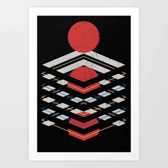 Unboxed Art Print
