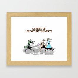 A series of unfortunate events Framed Art Print