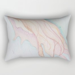 Lost In The Sea Of My Thoughts Rectangular Pillow