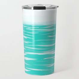 Sailing Across A Turquoise Sea Travel Mug