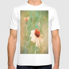 Kindness White MEDIUM Mens Fitted Tee
