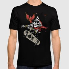 All hands on deck Black Mens Fitted Tee MEDIUM