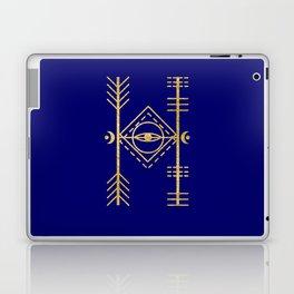Sacred Geometry Letter H Laptop & iPad Skin