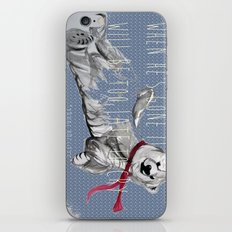 When He's Gone It Will Be To Late To Cry iPhone & iPod Skin