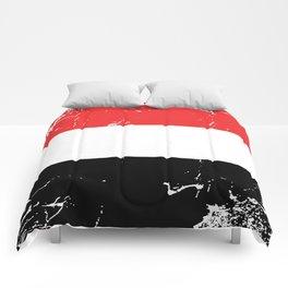 Republic of Yemen flag Comforters