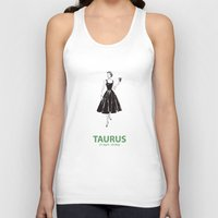 taurus Tank Tops featuring Taurus by Cansu Girgin